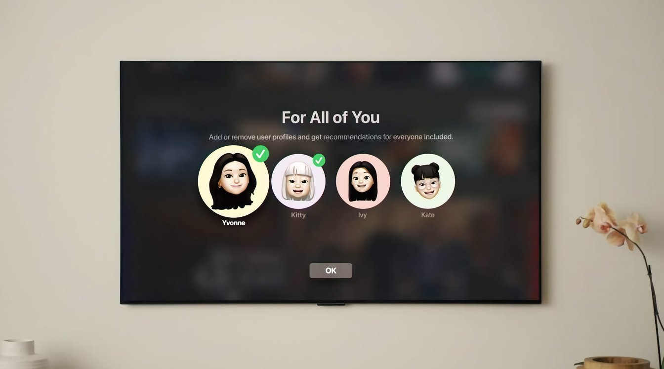 For all of you feature in the new tvOS 15